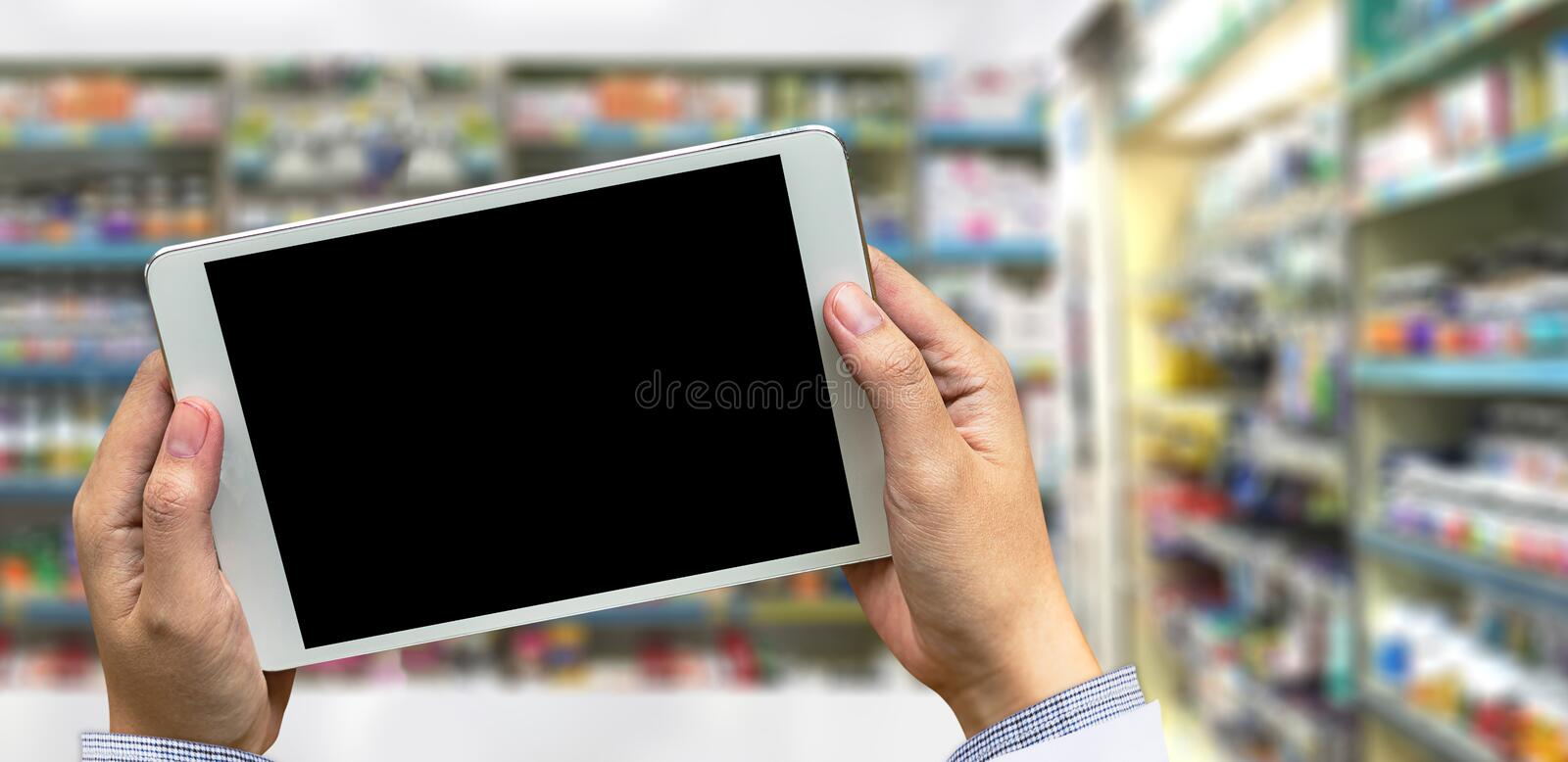 business pharmacy drugstore Healthcare concept pharmacists in royalty free stock photo