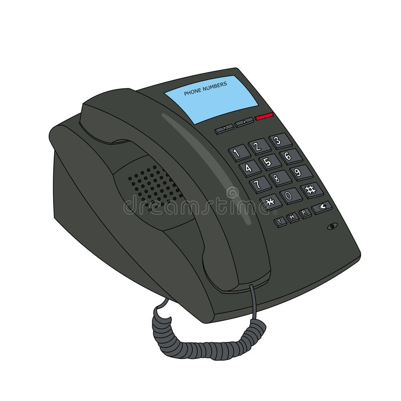 Business phone royalty free stock images