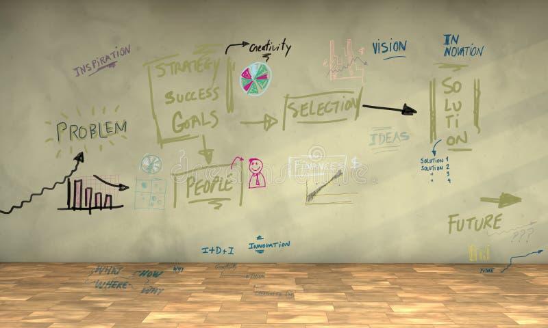 Business plan illustrazione vettoriale