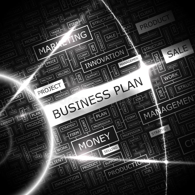 Business Plan Stock Vector Image Of Definition Plan