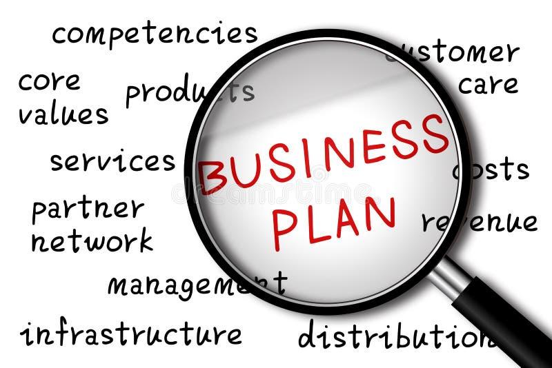 Business Plan stock image