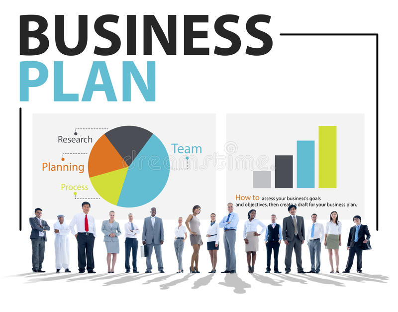 Business Plan Planning Strategy Meeting Conference Concept Stock Illustration Illustration Of
