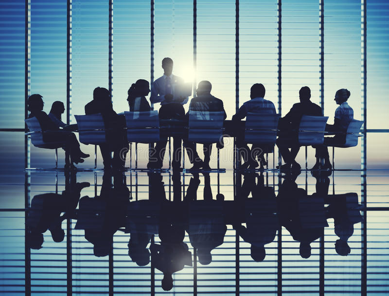 Business People Meeting Discussion Communication Concept royalty free stock photo