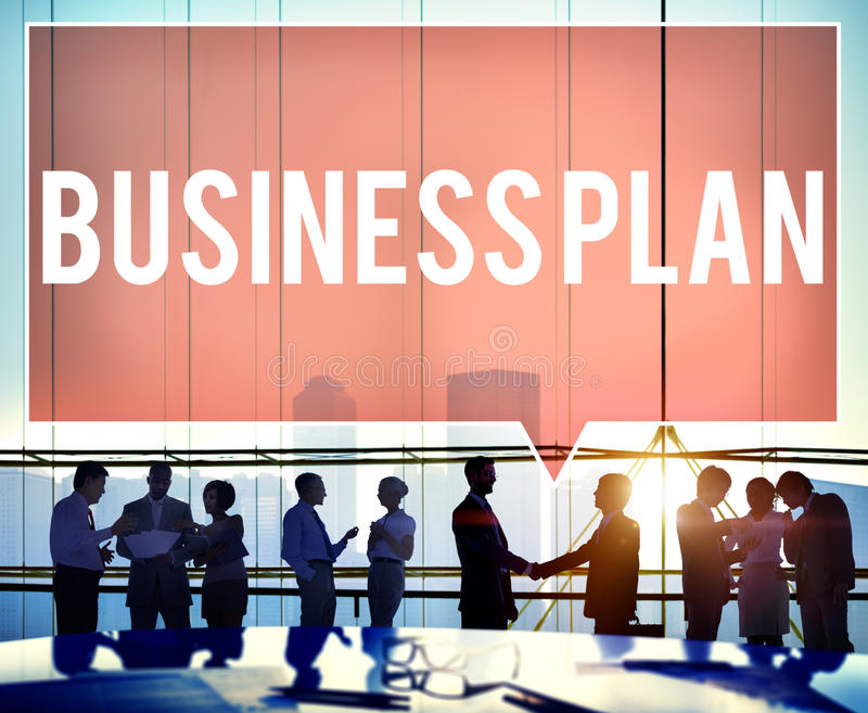 Business Plan Process Vision Analysis Strategy Concept royalty free stock image