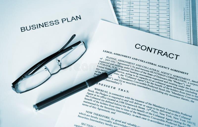 Business plan series stock photo