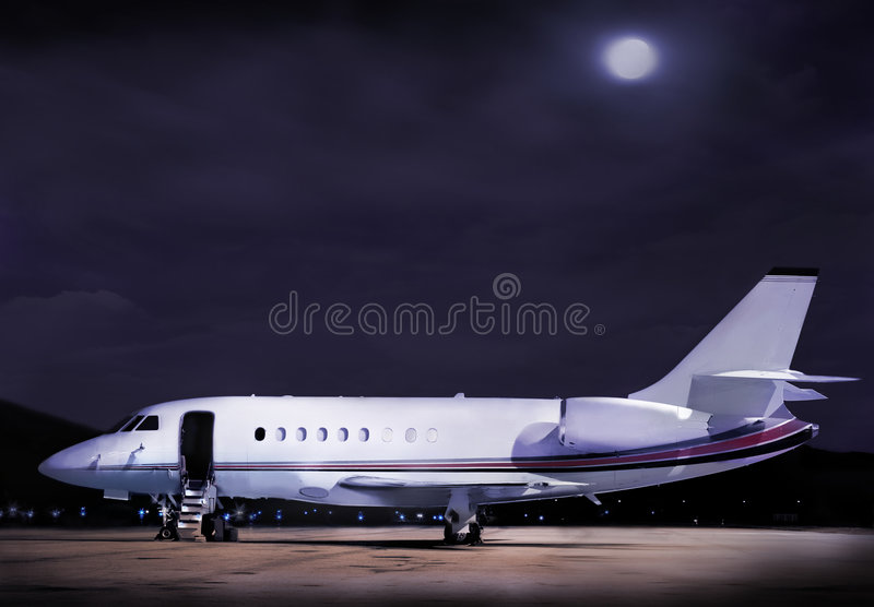 Business plane royalty free stock image