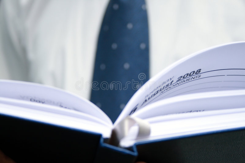 Business planner 2008 stock photo