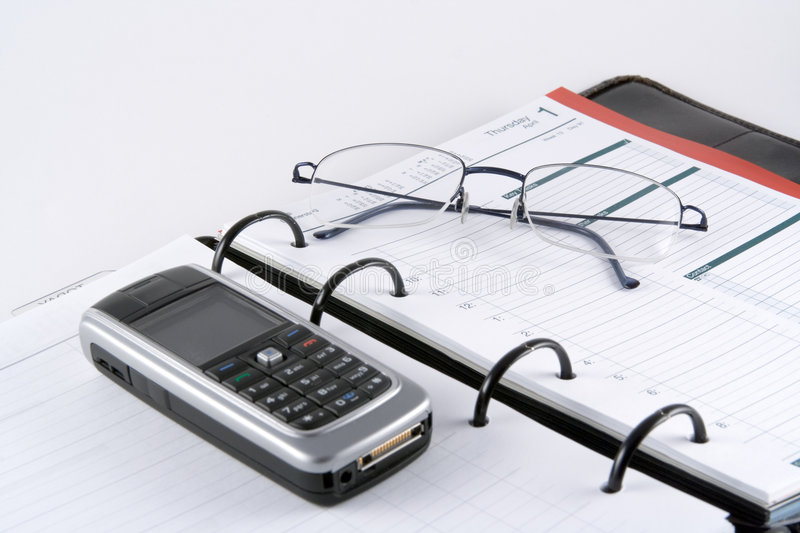 Business Planner stock photo