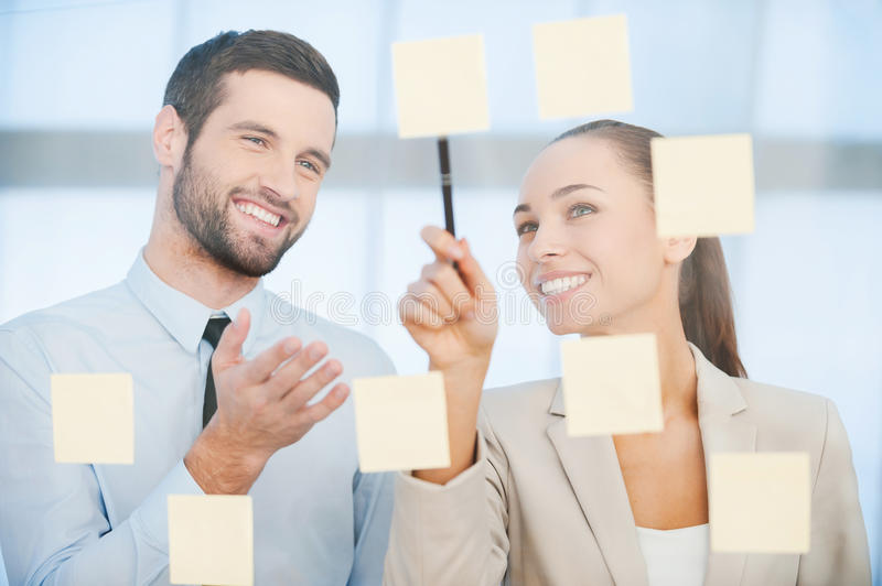 Business planning. stock images