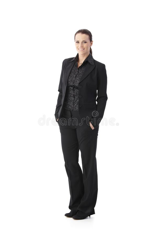Business portrait of mid-adult woman royalty free stock photos