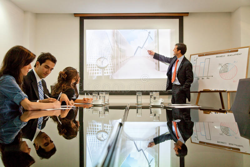Download Business presentation stock image. Image of partnership - 15026345