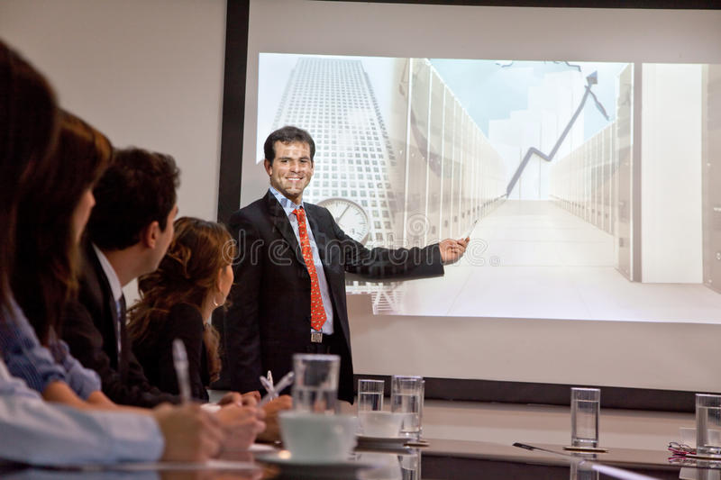 Download Business presentation stock photo. Image of person, presentation - 15520158