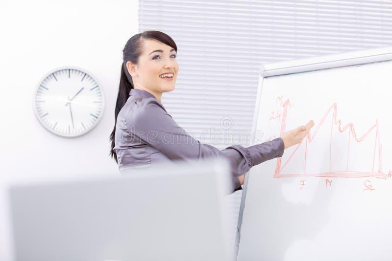 Download Business presentation stock image. Image of demo, female - 8533919