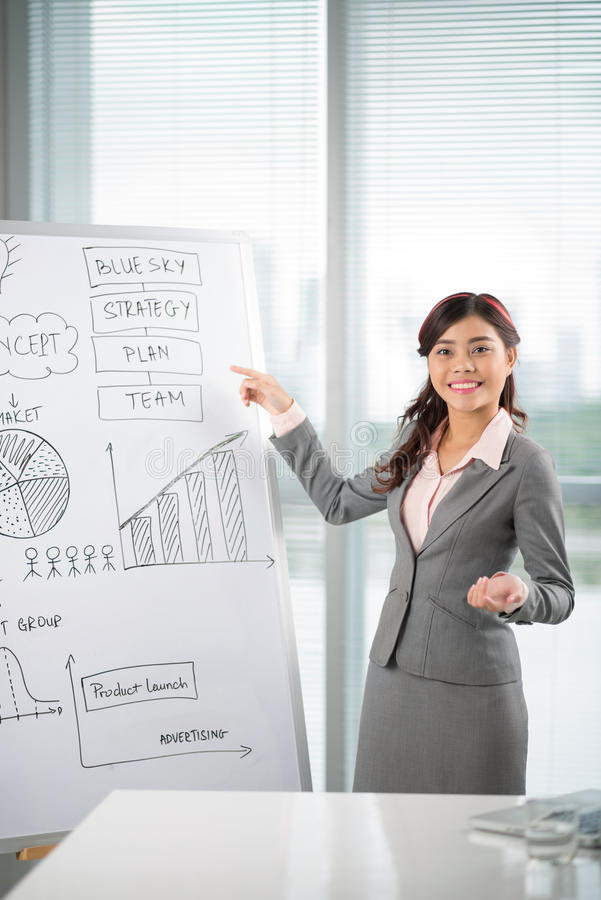 Business presentation royalty free stock photo