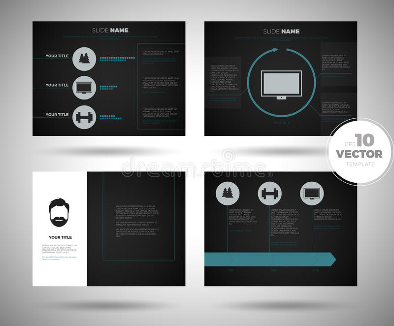 Business presentation template setpowerpoint template design download business presentation template setpowerpoint template design backgrounds stock vector illustration of magazine flashek Choice Image