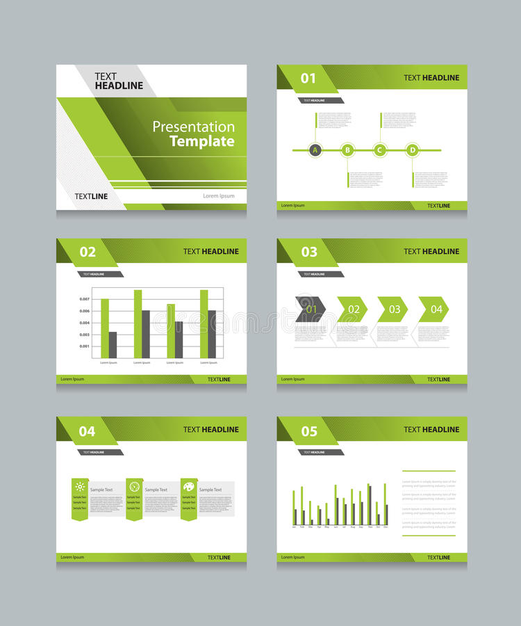 Business Presentation And Template Slides Background Design Stock