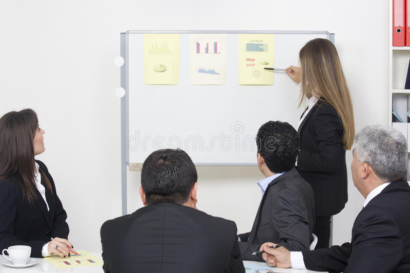 Business presentation royalty free stock photography