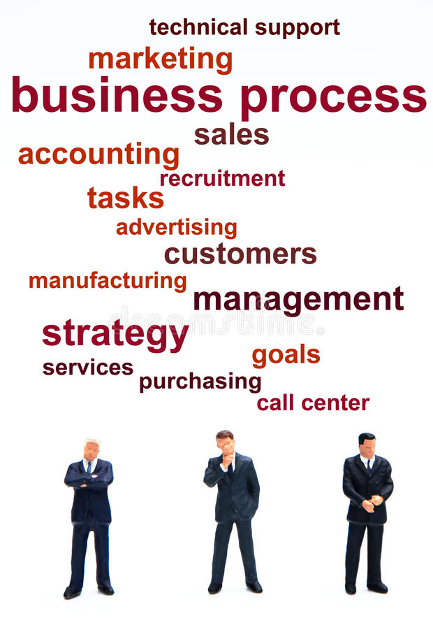 Business process royalty free illustration