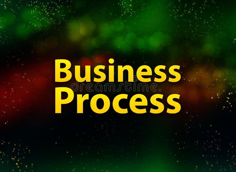 Business Process abstract bokeh dark background royalty free illustration