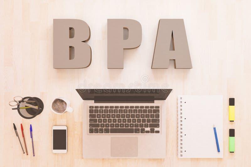 Business Process Analysis royalty free illustration