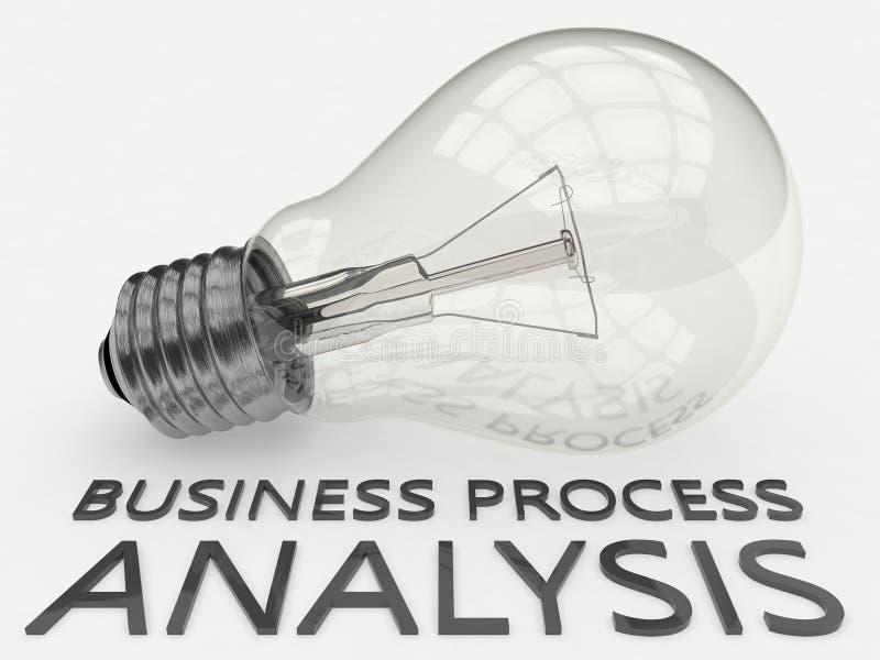 Business Process Analysis vector illustration