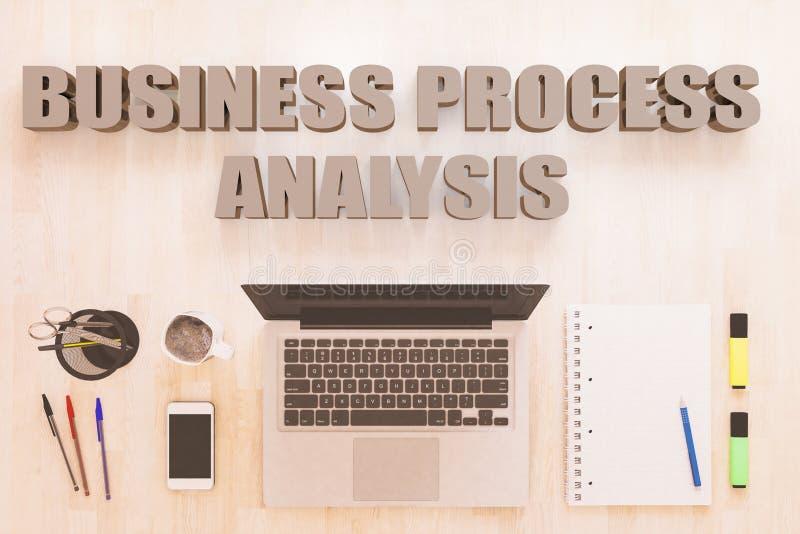 Business Process Analysis stock illustration