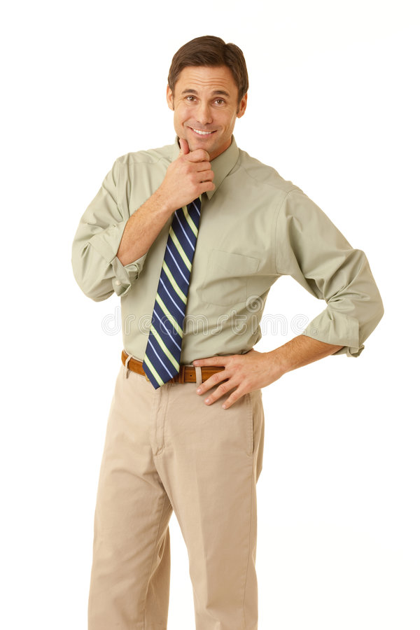 Business professional portrait stock image