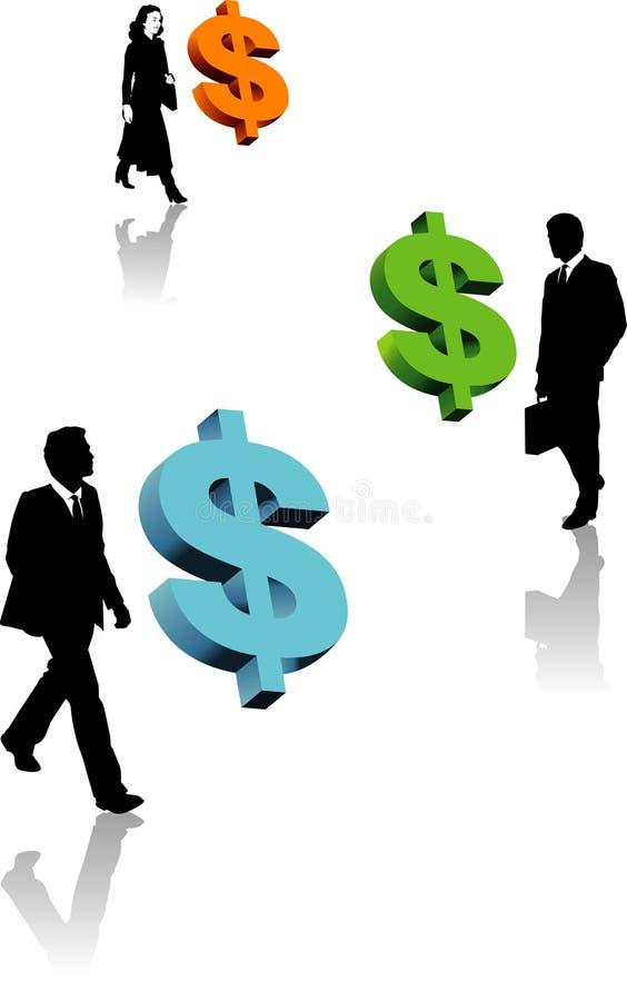 Business profit stock illustration