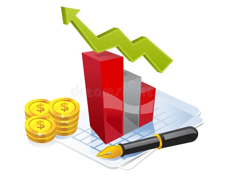 Download Business in progress stock vector. Image of market, office - 8028651