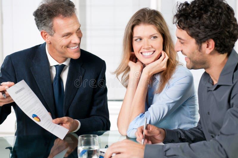 Business proposal stock photo