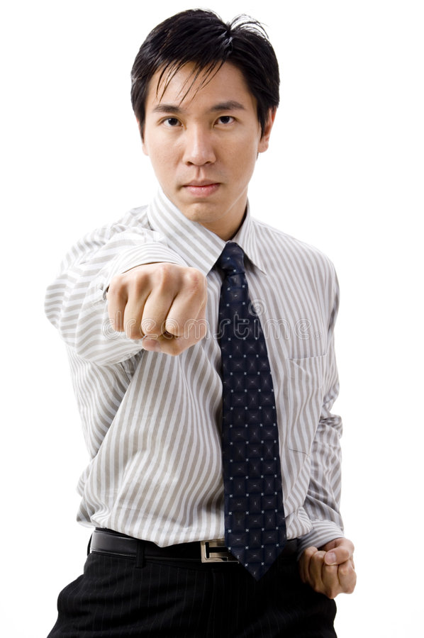 Business Punch stock image