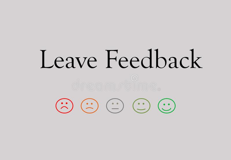 Business quality service customer feedback royalty free stock images