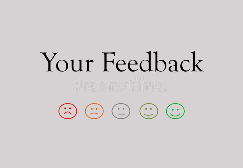 Business quality service customer feedback stock photo