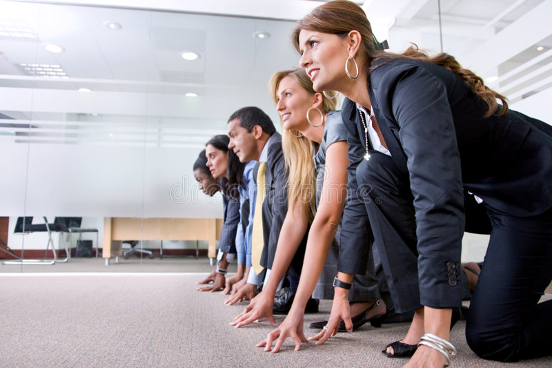 Download Business race stock photo. Image of corporate, running - 8862474