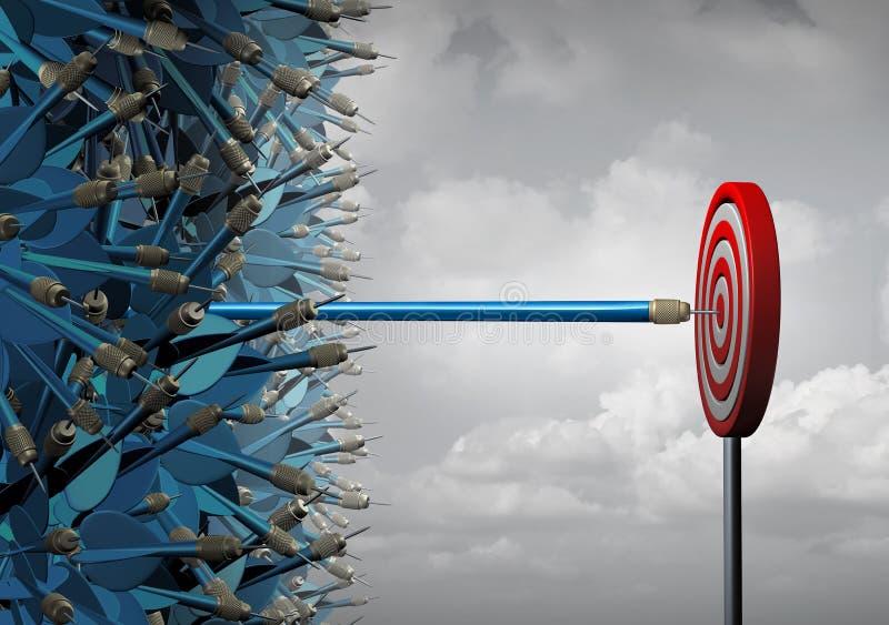Business Reach Success stock illustration