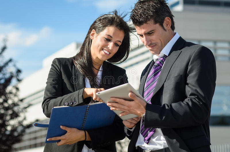 Business relationship royalty free stock photo
