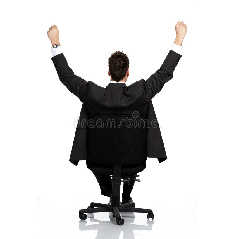 Business relax royalty free stock images