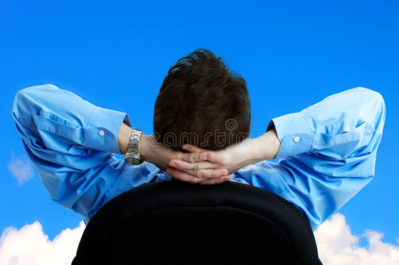 Download Business relax stock image. Image of back, worker, place - 4477049