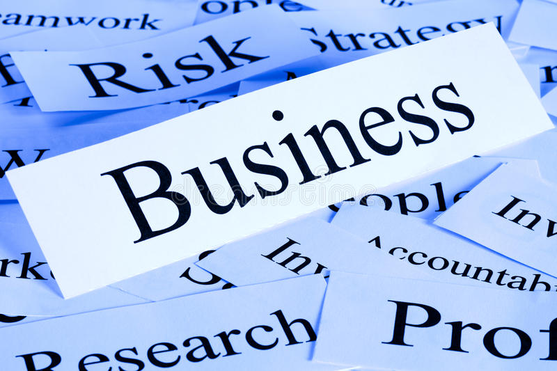 Business Risk Concept. A conceptual look at business and risk. Post processed. For others in this series, see our portfolio royalty free stock image