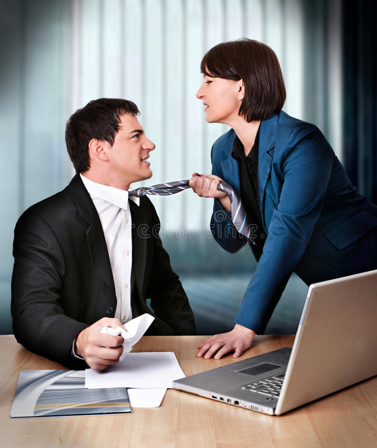 Business-rivalry 1 Stock Photography