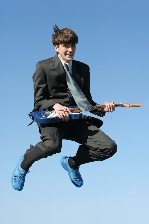 Business rock'n'roll stock images