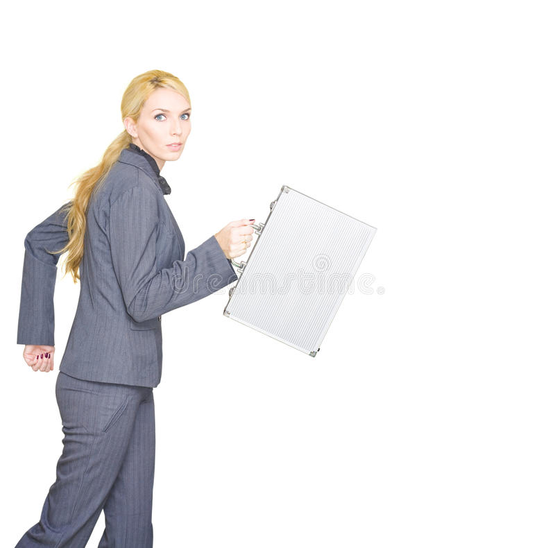 Download Business Run stock image. Image of business, office, girl - 19819875