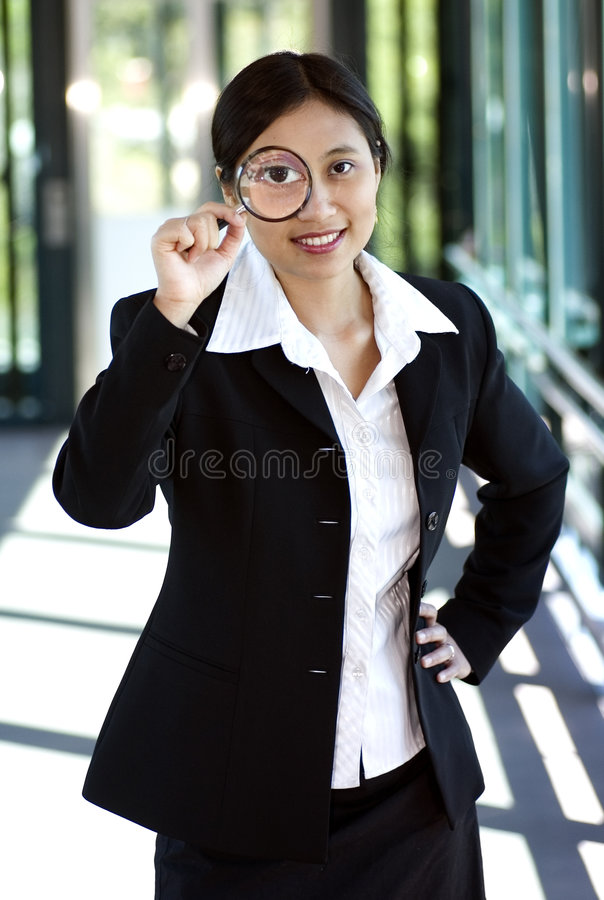 Business Search royalty free stock photos