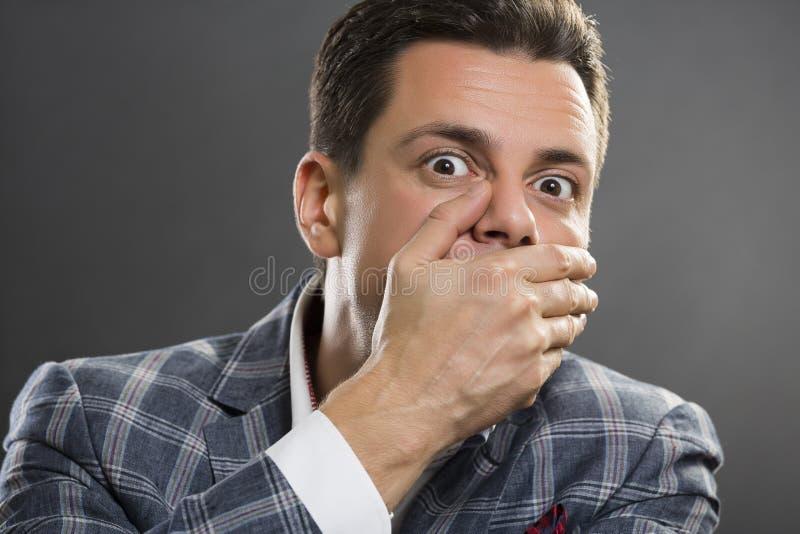 Business secret stock image