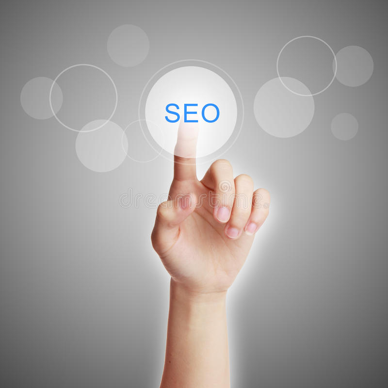 Business SEO search royalty free stock images