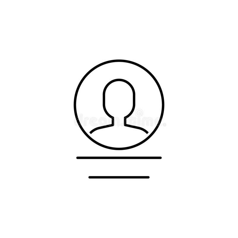 Business seo, user line icon. Teamwork at the idea. Signs and symbols can be used for web, logo, mobile app, UI, UX. On white background vector illustration