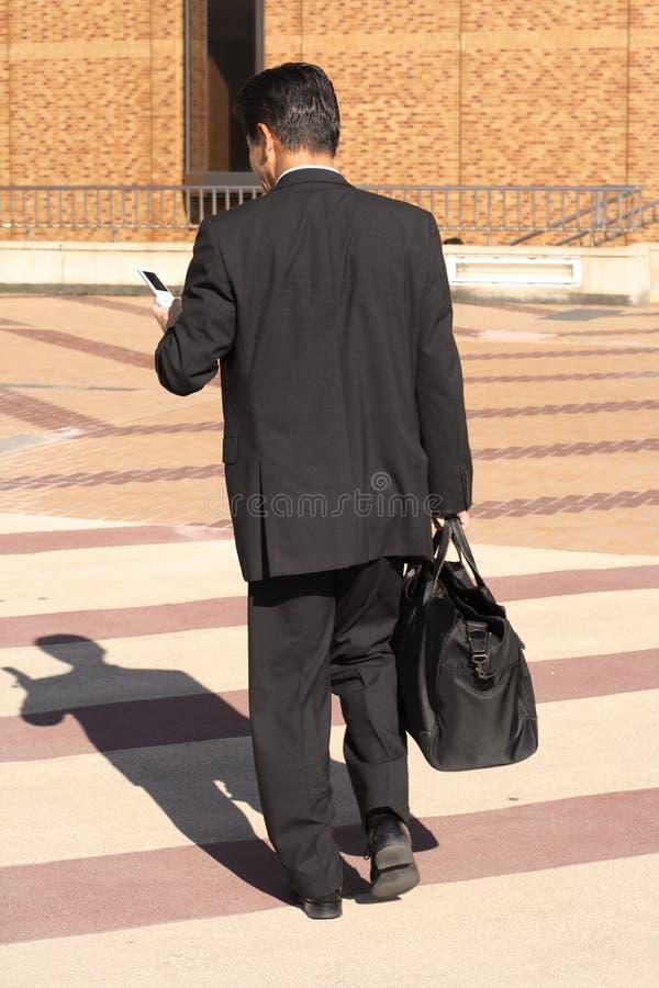 Business shadows royalty free stock photos