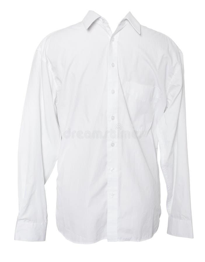 Business Shirt. On Isolated White Background stock photo