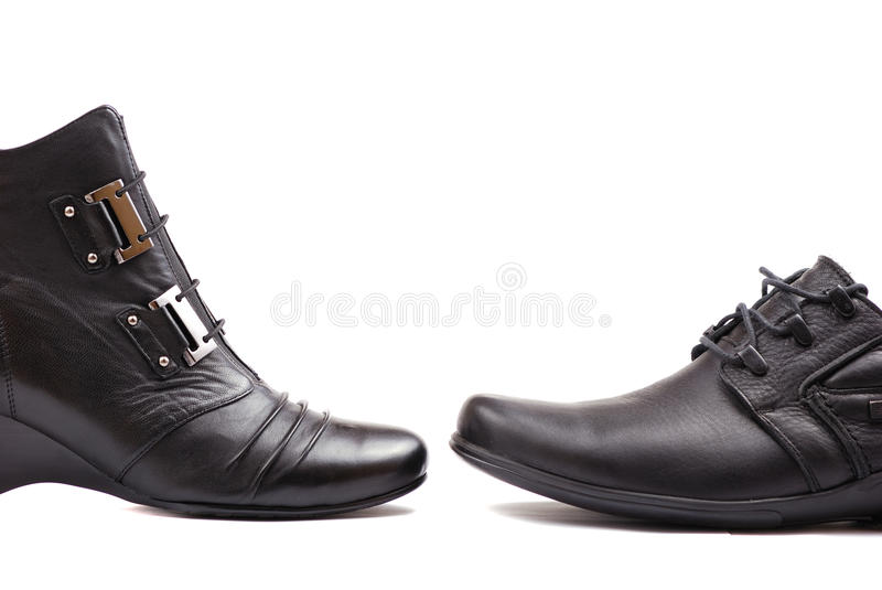 Business Shoes Stock Photo
