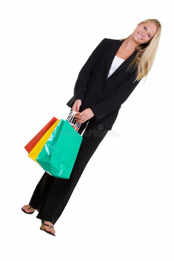 Business shopper royalty free stock photos
